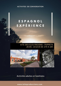 Cité des E´léctriciens  Afiche Espagnol expérience 2 FR