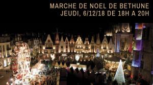 Marché de noël Béthune Jeudi, 6_12_18 de 18h à 20h