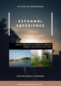 Lac de la fossette  afiche Espagnol expérience 1 FR(1)